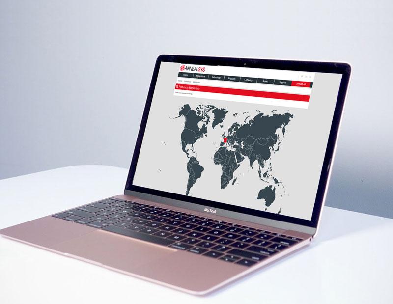 Création et développement site vitrine/corporate et produits sur mesure, langue anglaise, administration sur mesure par types de contenus, CMS interne.