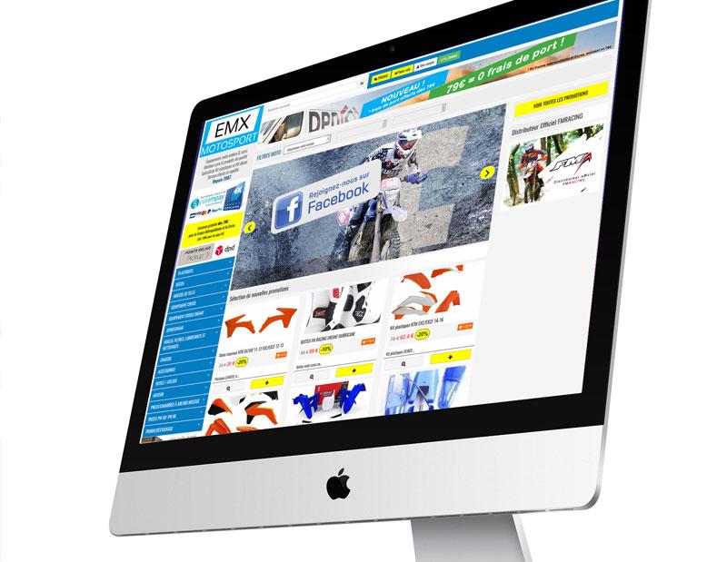 Création et développement site e-commerce sur mesure