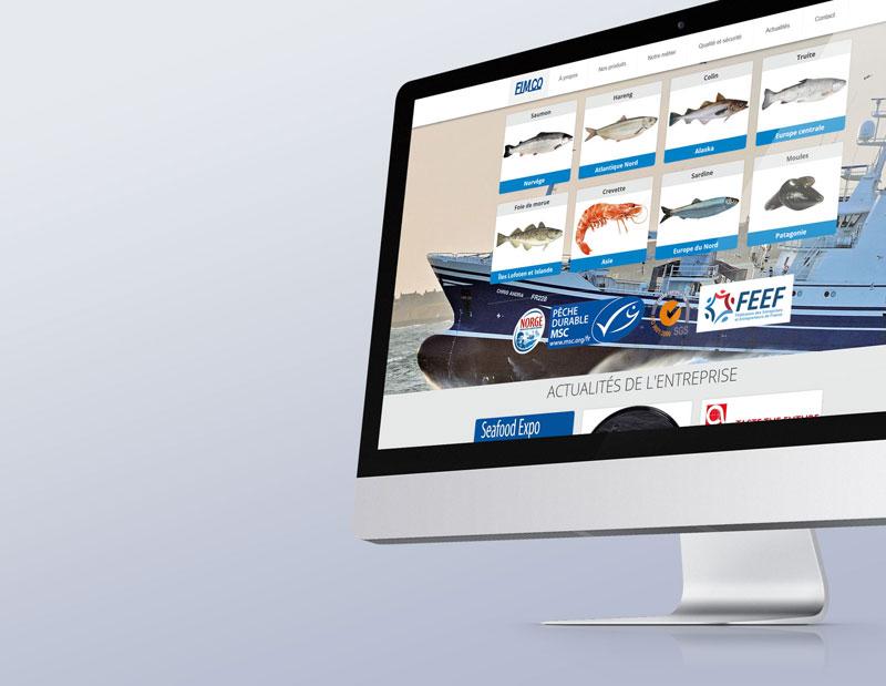 Création et développement site vitrine/corporate de marque, produits & services sur mesure, CMS interne, administration sur mesure par types de contenus.