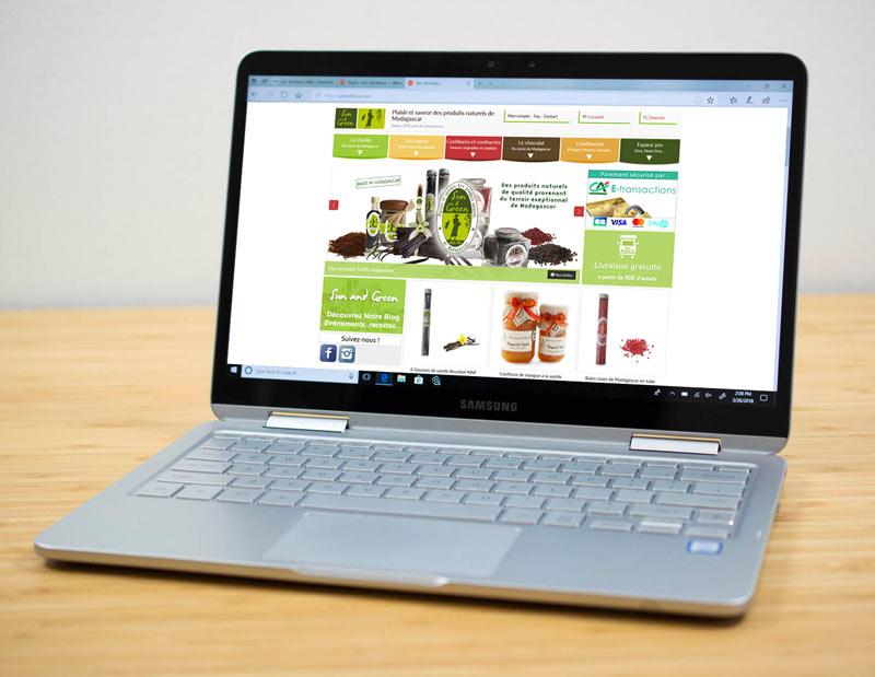 Création et développement site vitrine/corporate et e-commerce sur mesure, CMS interne, administration sur mesure.